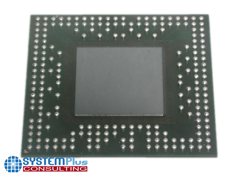 Bottom Package Texas Instruments AWR1843AoP 77/79 GHz Radar Chipset Routing - System Plus Consulting