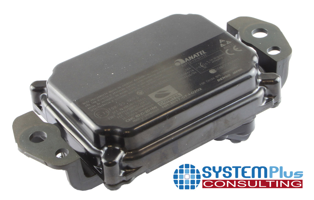 Denso DNMWR009 Cruise Control RADAR Distance Sensor back