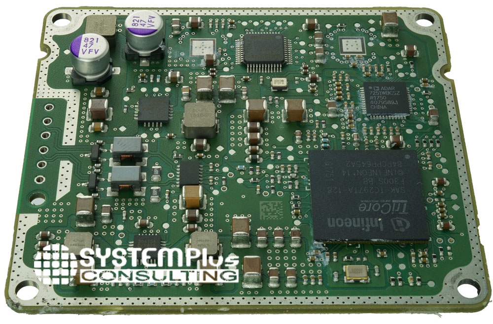 Mando MRR20 77GHz Mid-Range Radar electronic board