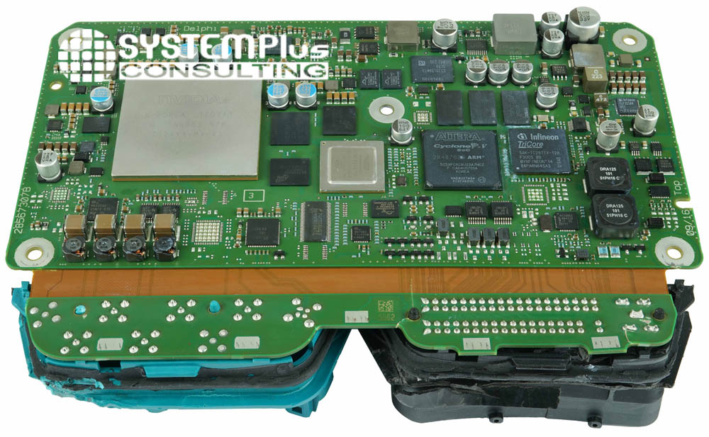 Electronic Board - Aptiv - Audi A8 zFAS - System Plus Consulting