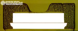 Sensirion SHT31 Humidity Sensor Cross-Section – SEM view