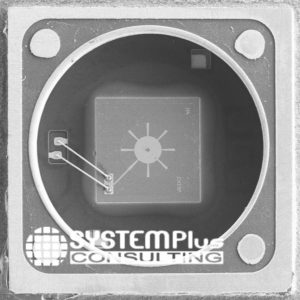 CH-101 MEMS die top view TDK - System Plus Consulting