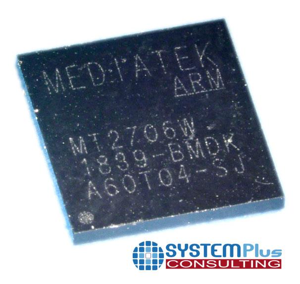 Package overview Mediatek eWLP AiP Radar chipset - System Plus Consulting