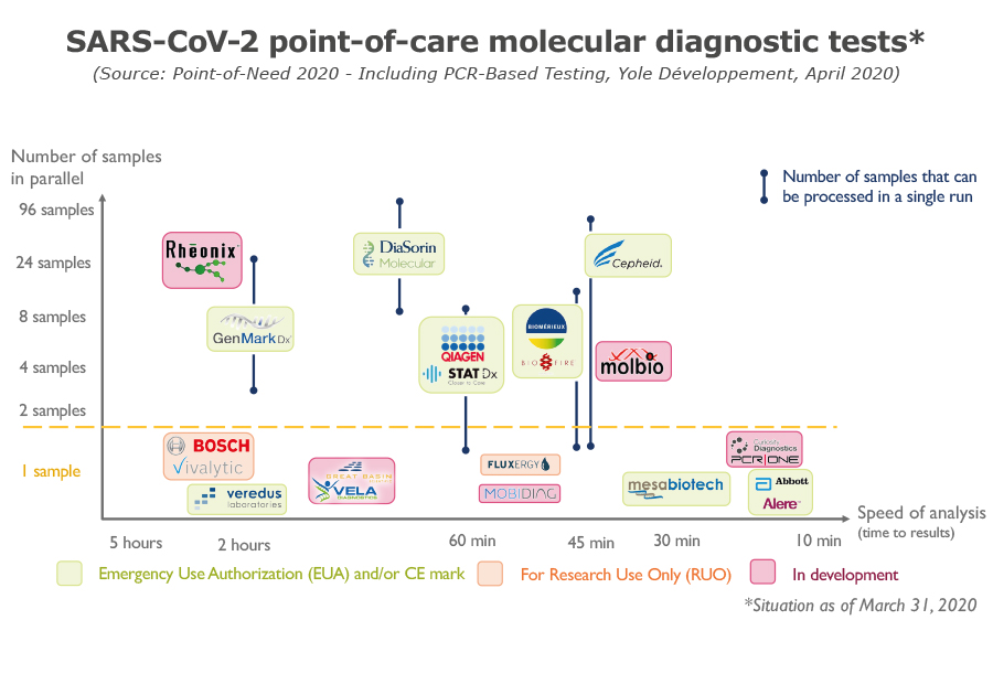 SARS-CoV-2 point-of-care molecular diagnostic tests