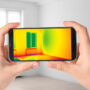 Smartphone thermal imager