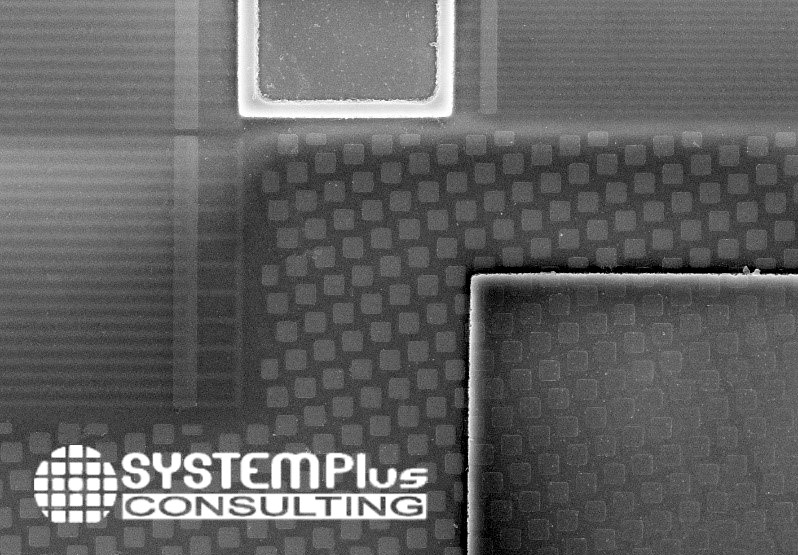 Top View of Filter - SAW Comparison 2020 - System Plus Consulting