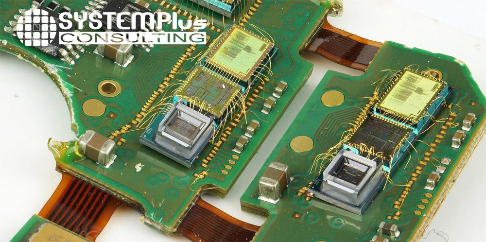 Electronic board Tilted optical view Sensonor STIM318 IMU