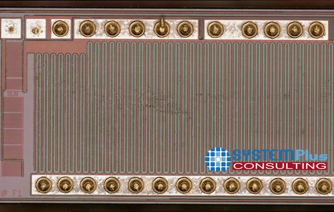 Die overview Innoscience 650V Gan-on-Si Transistor