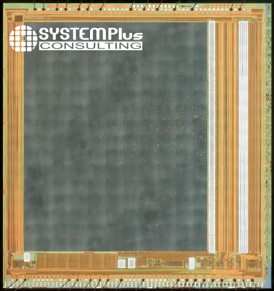 iRay RTD611 17µm microbolometer die - optical view