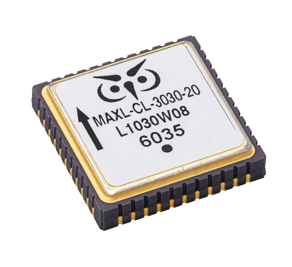 MAXL-Closed Loop-3030 MEMS Accelerometer