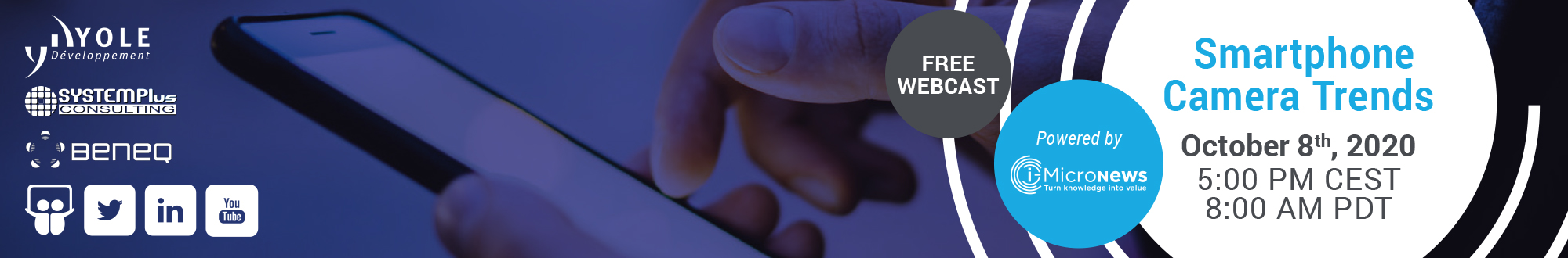 Smartphone Camera Trends – Webcast
