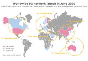 Worldwide 5G network launch in June 2020