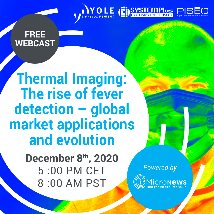 Thermal Imaging Webcast Yole System Plus Piseo