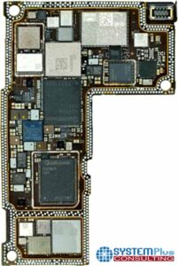 RFFEM Technical & Cost Comparison 2021 - 5G Chipset - iPhone 12 Pro max - Main Board - System Plus Consulting