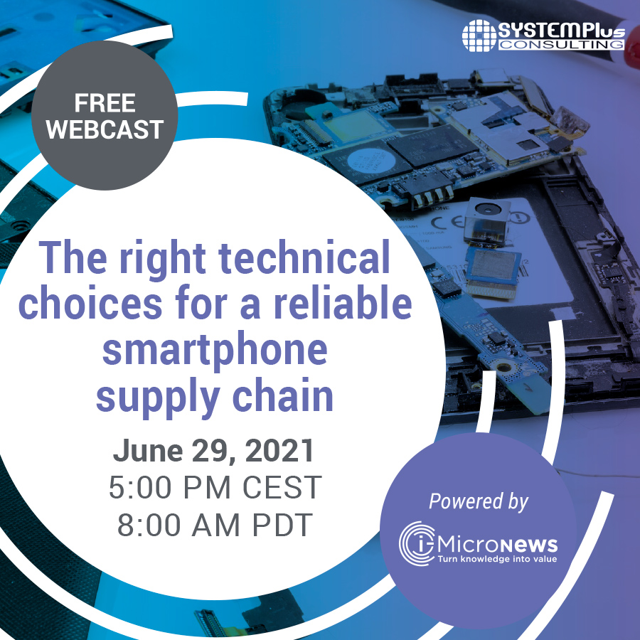 The right technical choices for a reliable smartphone supply chain