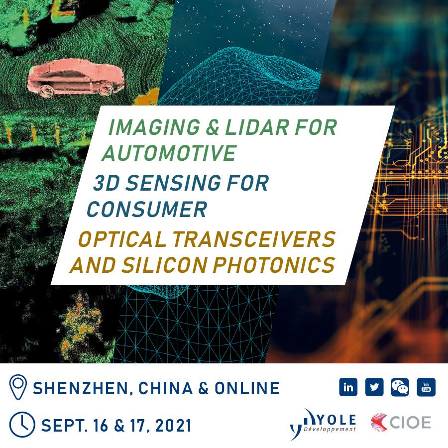Photonics Forums 2021 Yole CIOE